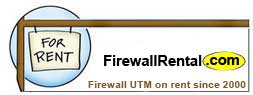 Firewall UTM Router on Rent in Bangalore
